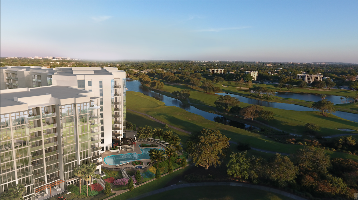 boca raton country club living at Akoya Boca West